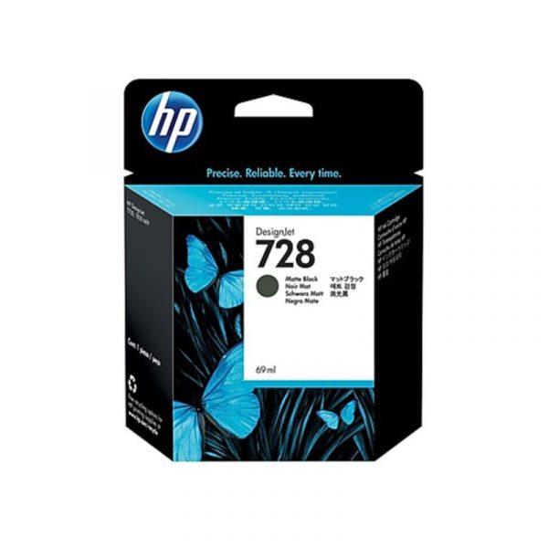 HP - 728 69-ml Matte Black Ink Crtg [F9J64A]