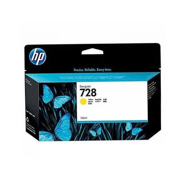 HP - 728 130-ml Yellow Ink Crtg [F9J65A]