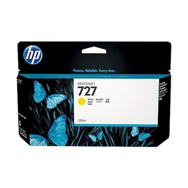 HP - 727 300-ml Yellow Ink Cartridge [F9J78A]