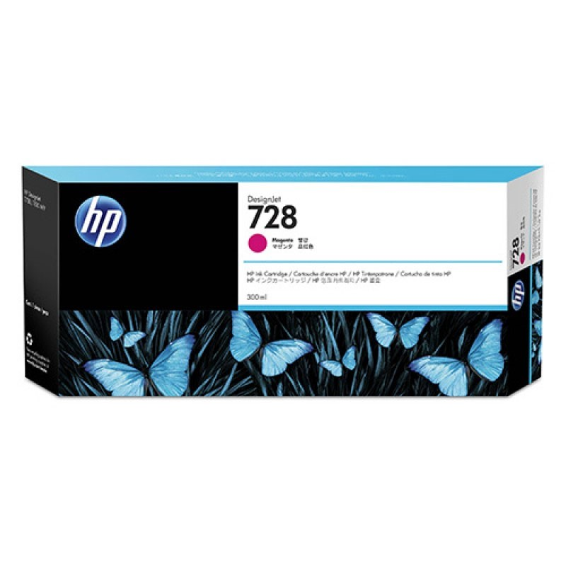 HP - 728 300-ml Magenta Ink Crtg [F9K16A]