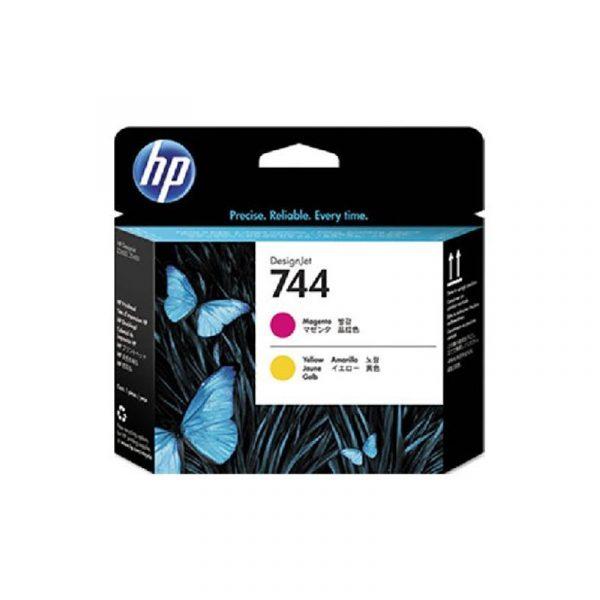 HP - 744 Magenta and Yellow Printhead [F9J87A]