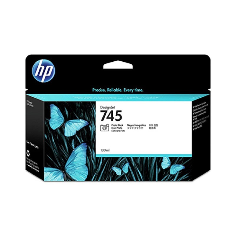 HP - 745 130-ml Photo Black Ink Cartridge [F9J98A]
