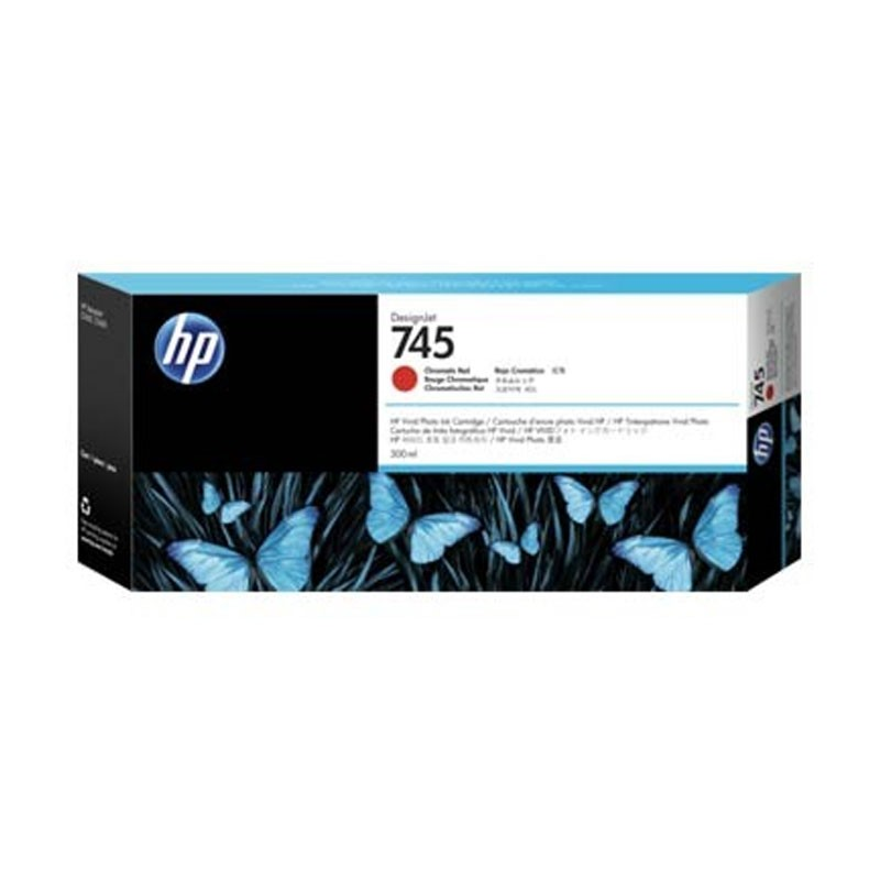 HP - 745 300-ml Chrmtc Red Ink Cartridge [F9K06A]