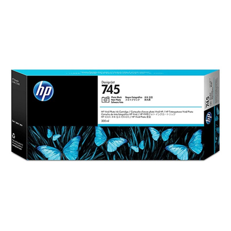 HP - 745 300-ml Photo Black Ink Cartridge [F9K04A]