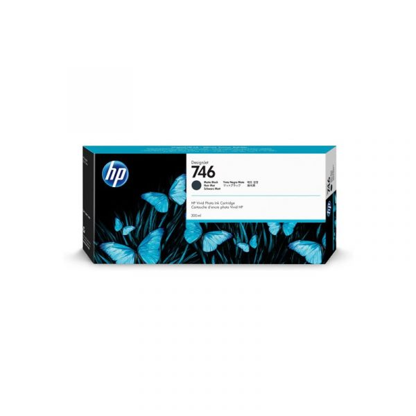 HP - 746 300-ml Matte Black Ink Crtg [P2V83A]
