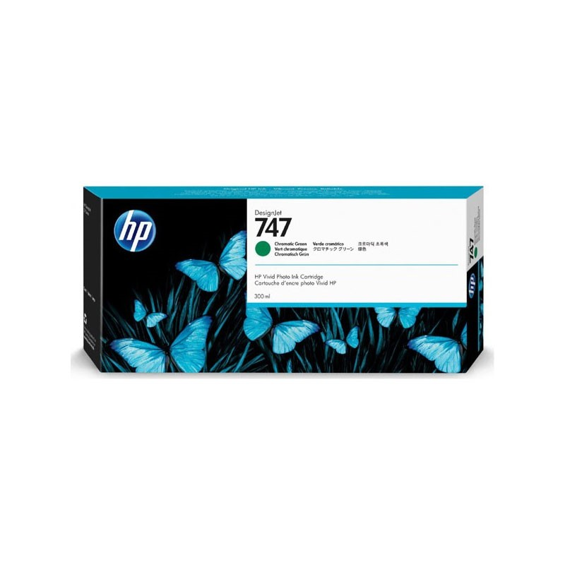 HP - 747 300-ml Chrmtc Green Ink Crtg [P2V84A]