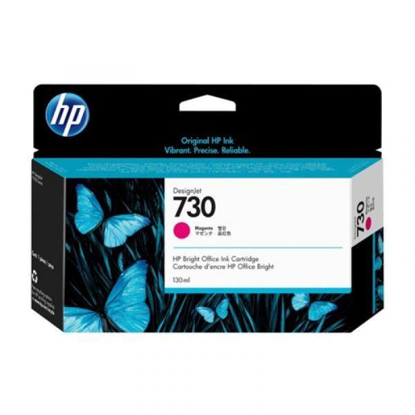 HP - 730 130-ml Magenta Ink Cartridge [P2V63A]