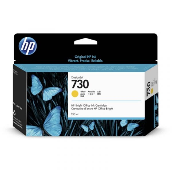 HP - 730 130-ml Yellow Ink Cartridge [P2V64A]