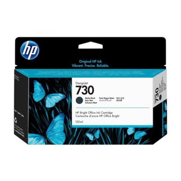 HP - 730 130-ml Matte Black Ink Crtg [P2V65A]