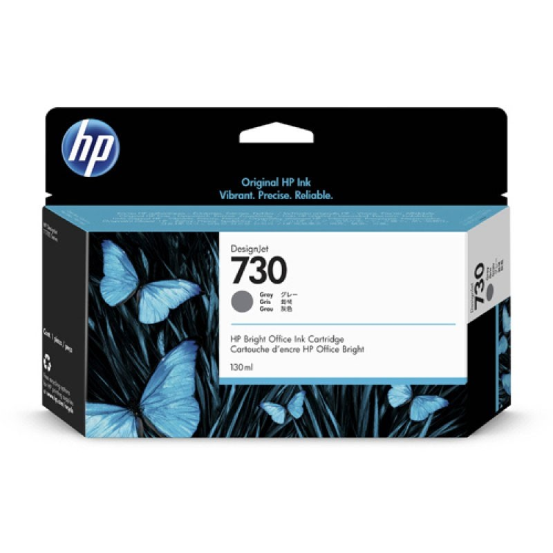 HP - 730 130-ml Gray Ink Crtg [P2V66A]