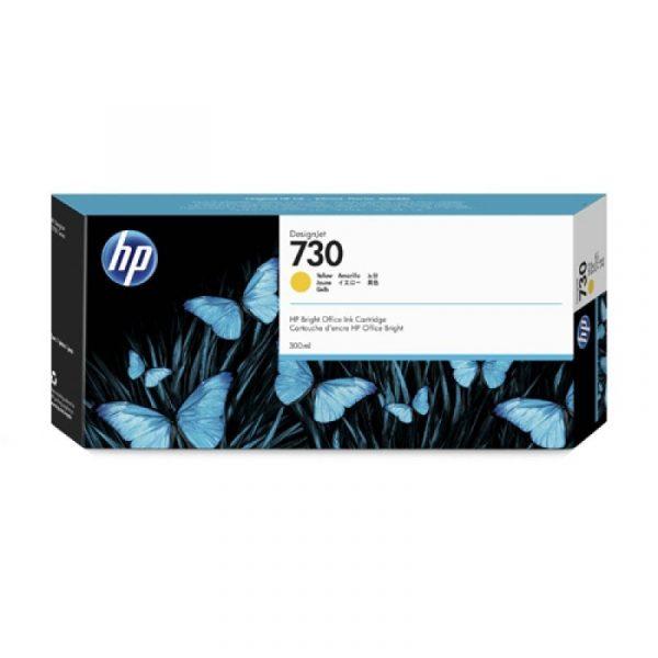 HP - 730 300-ml Yellow Ink Cartridge [P2V70A]