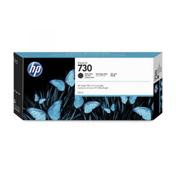 HP - 730 300-ml Matte Black Ink Crtg [P2V71A]