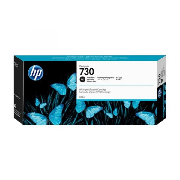 HP - 730 300-ml Photo Black Ink Crtg [P2V73A]