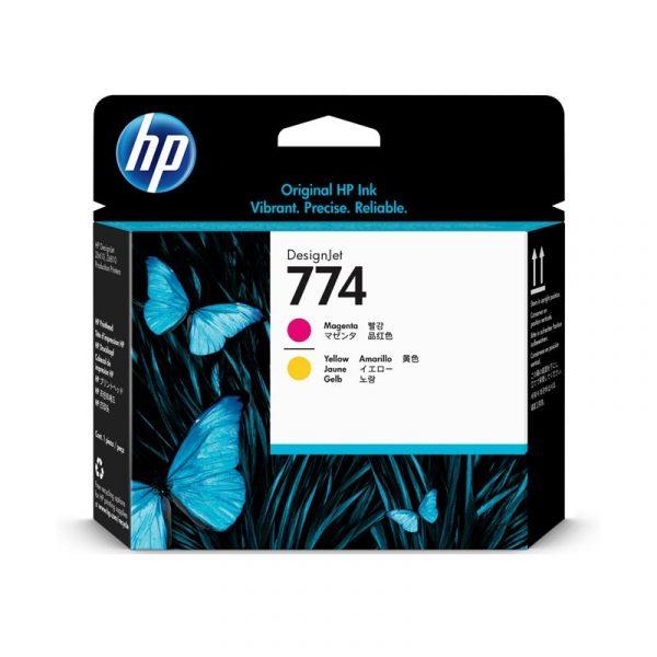 HP - 774 Magenta/Yellow Printhead [P2V99A]