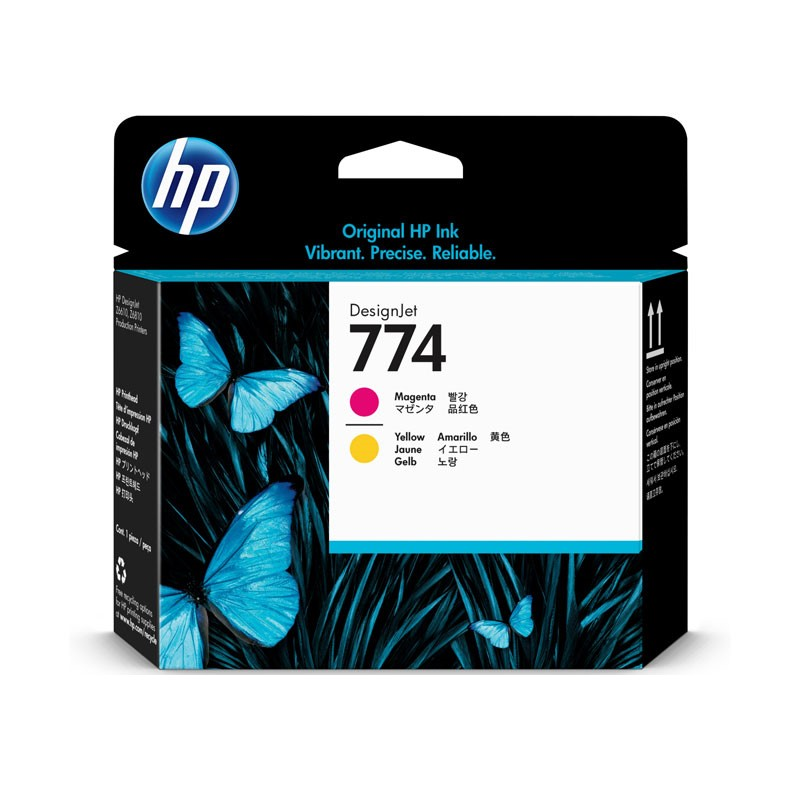 HP - 774 Magenta/Yellow Printhead [P2V99A]