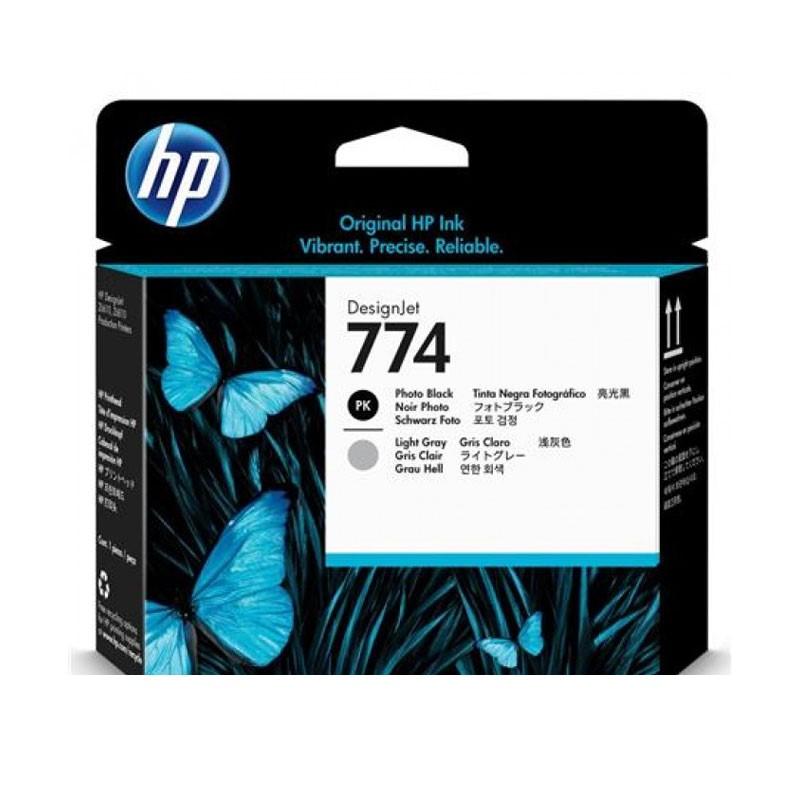 HP - 774 Photo Black/Lt Gry Printhead [P2W00A]