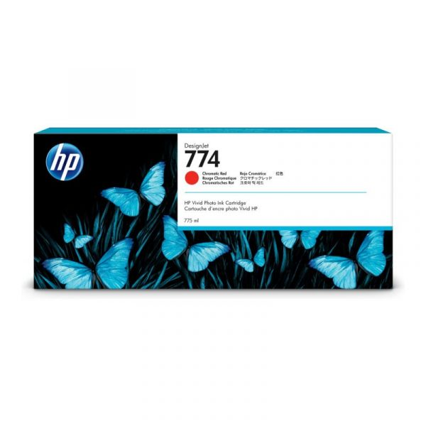 HP - 774 775-ml Chrmtc Red Ink Cartridge [P2W02A]