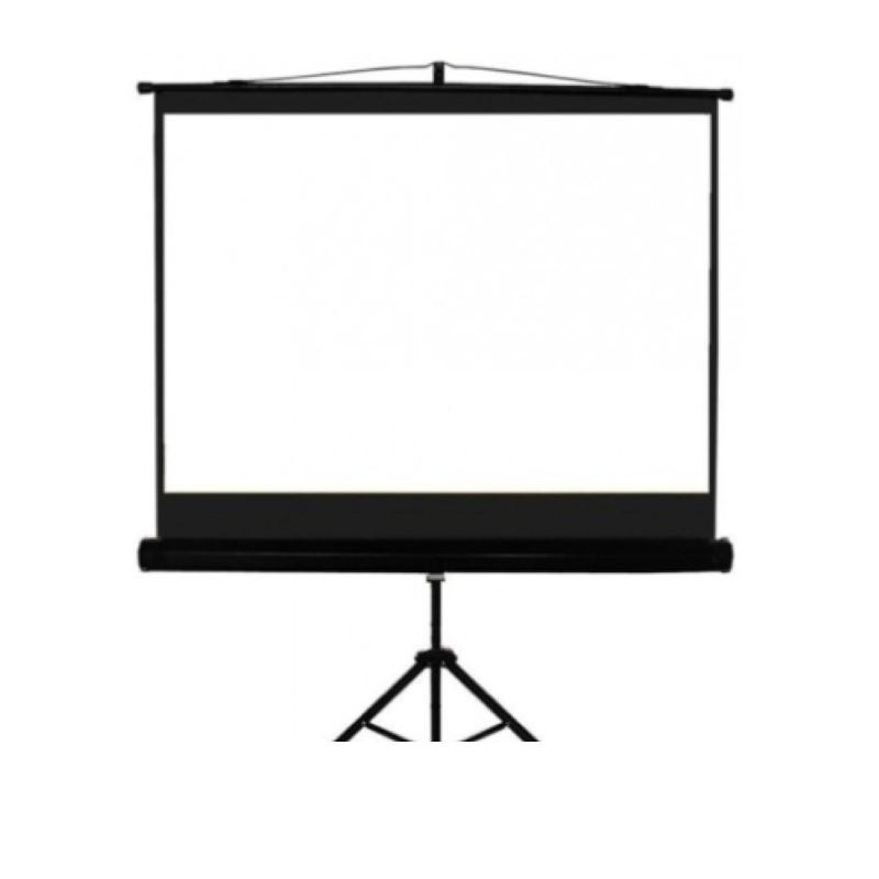 SCREENVIEW - Tripod Screen 150x150 cm / 60inchx60inch [TSSV1515L]
