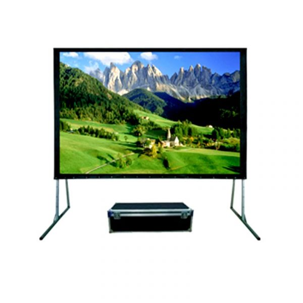 SCREENVIEW - Folding Screen Front&Rear Projection 320x427 cm (200inch Diagonal)  [FRSV3141]