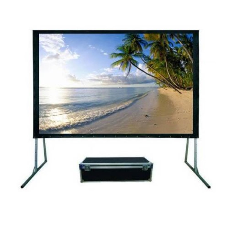 MICROVISION - Folding Screen Front Projection 274x366 cm / 180inch Diagonal [FSMV2736]