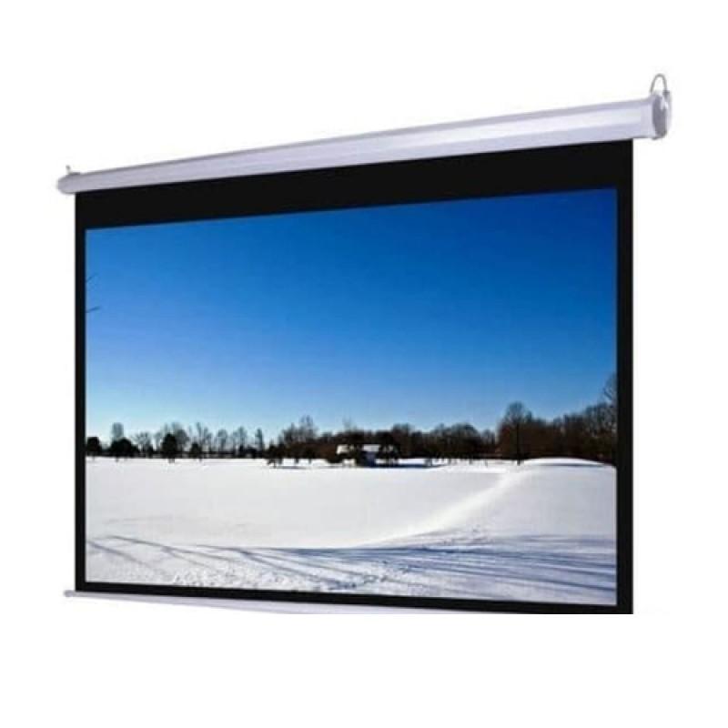 D-LIGHT - Manual Wall Screen 244x244 cm / 96inchx96inch [MWSDL2424L]