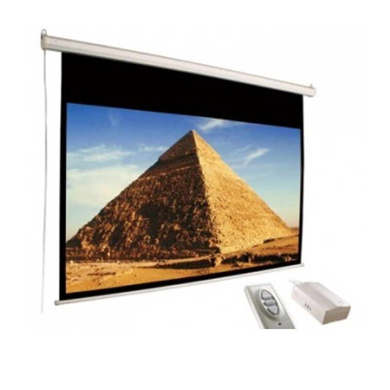 D-LIGHT - Motorized Screen 360x360 cm / 140inchx140inch  [EWSDL3636RL]