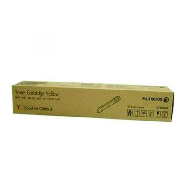 FUJI XEROX - DPC5005d Yellow Toner Cartridge (12k) [CT202028]