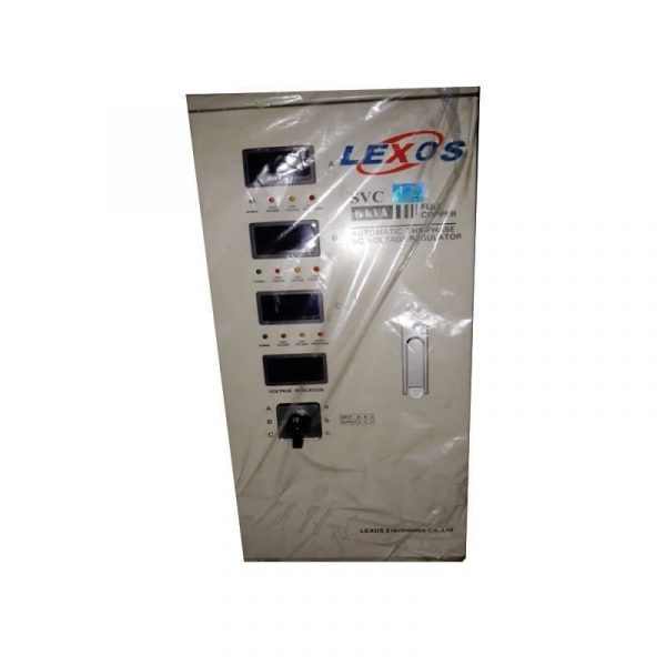 LEXOS - Stabilizer 3 Phase ST 6 KVA 4 DG