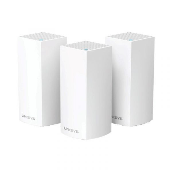 LINKSYS - AC3900 DUAL BAND,MU-MIMO, 3 PACK MESH NETWORK [WHW0103-AH]