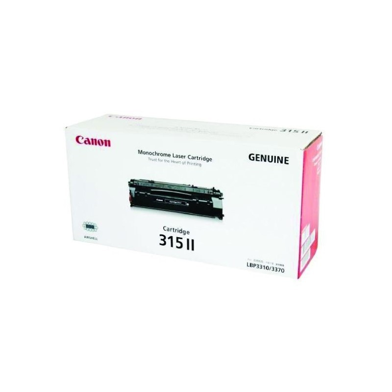 CANON - Cartridge 315II for LBP3310/LBP3370 (7K) [EP315II]