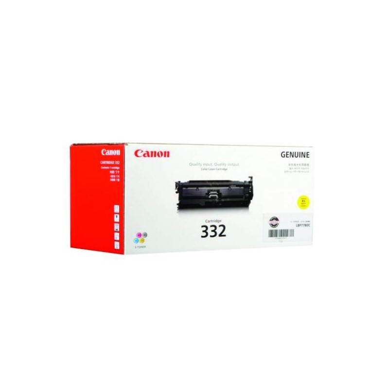 CANON - Cartridge 332 Yellow for LBP7780CXk [EP332Y]