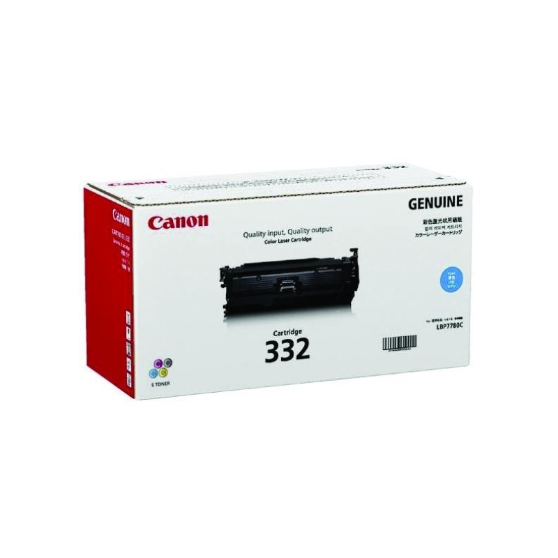 CANON - Cartridge 332 Cyan for LBP7780CX [EP332C]