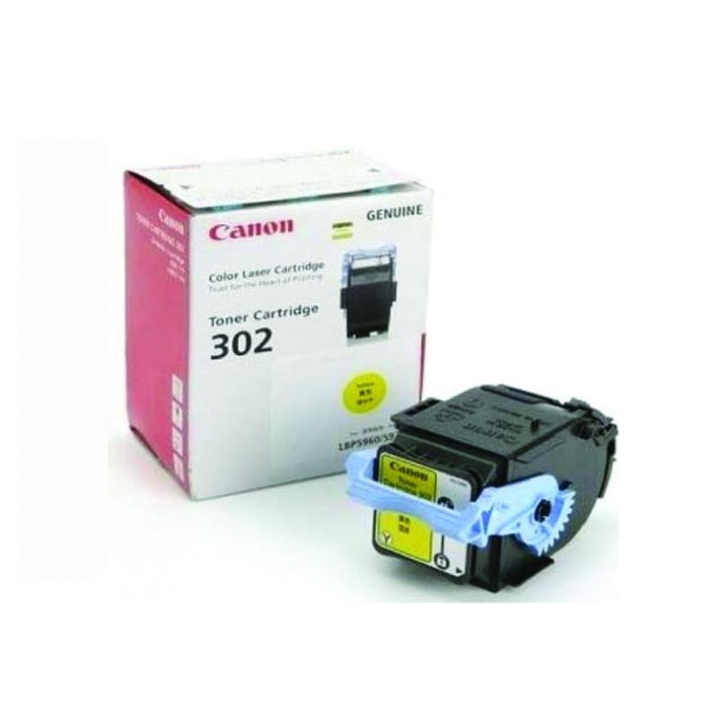 CANON - Cartridge 302 Yellow for LBP5960 (6K) [EP302Y]