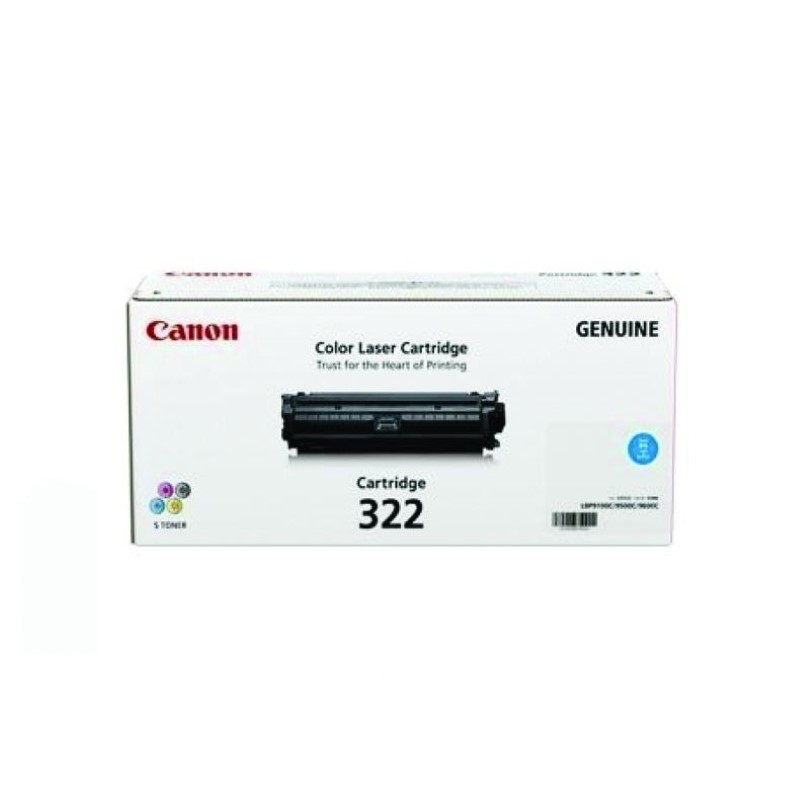 CANON - Toner Cartridge EP-322 Cyan for LBP 9100Cdn [EP322C]