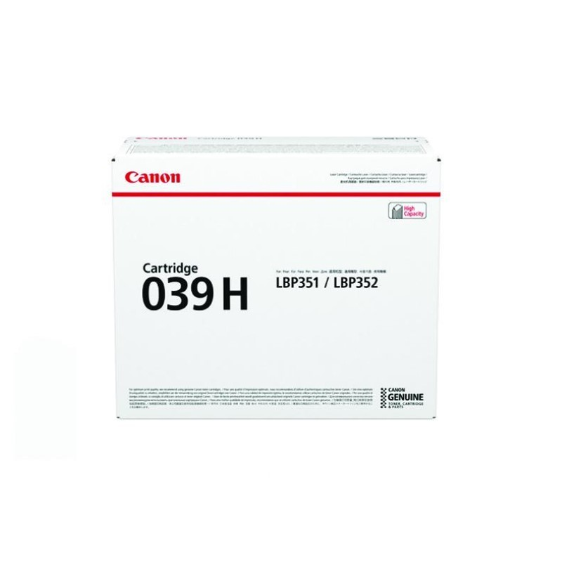 CANON - Cartridge EP-039H for LBP351X/LBP352X [EP039H]