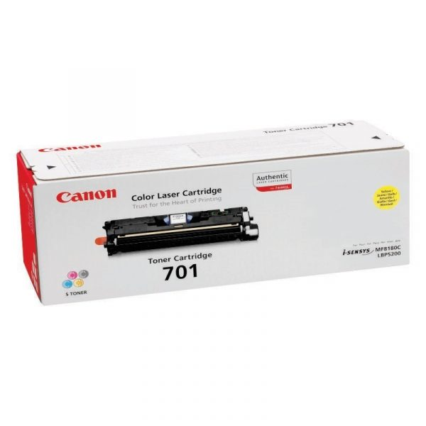 CANON - Cartridge 301 Yellow for LBP5200 [EP301Y]