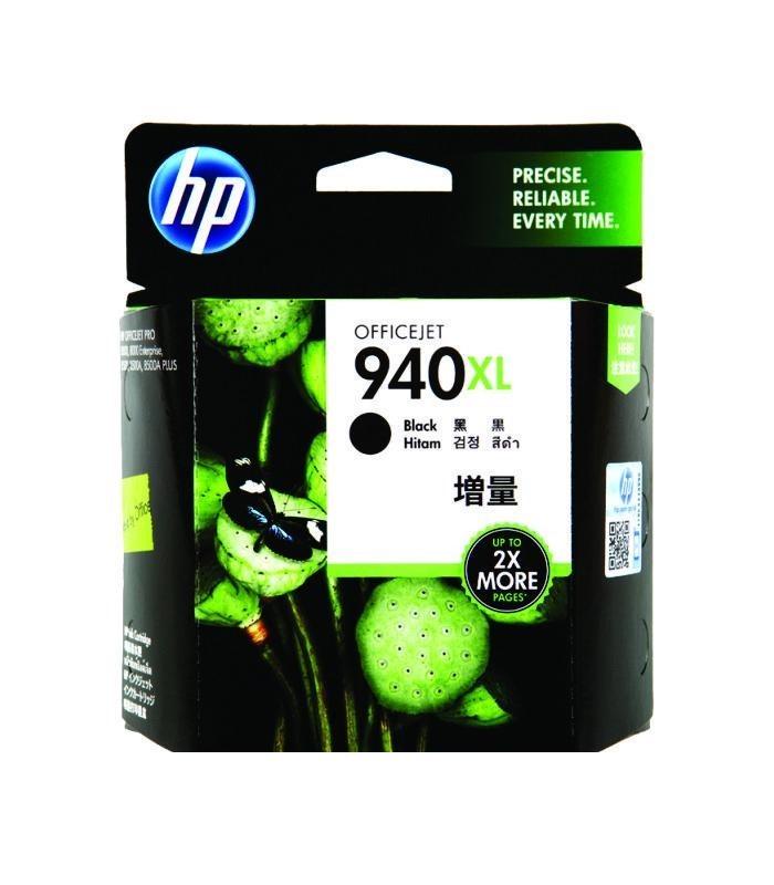 HP - 940XL Black Ink Cartridge [C4906AA]