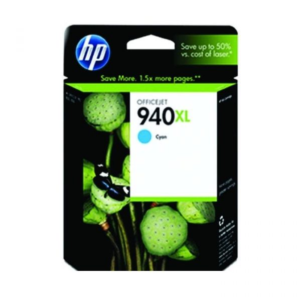 HP - 940XL Cyan Officejet Ink Cartridge [C4907AA]