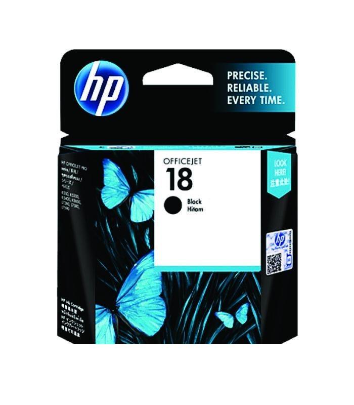 HP - 18 Black Ink Cartridge [C4936A]