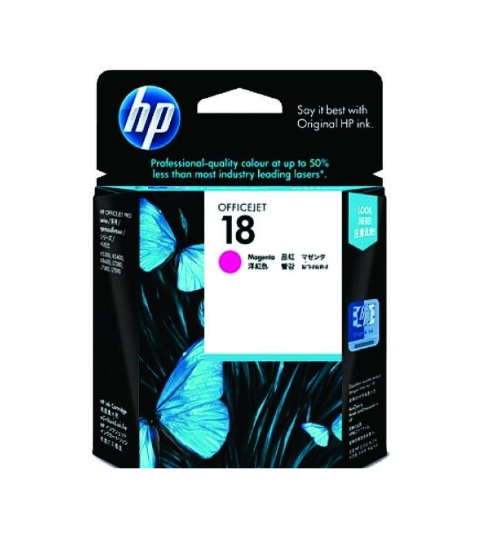HP - 18 Magenta Ink Cartridge [C4938A]