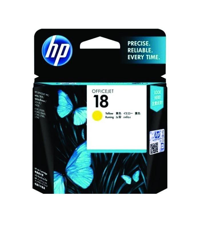 HP - 18 Yellow Ink Cartridge [C4939A]