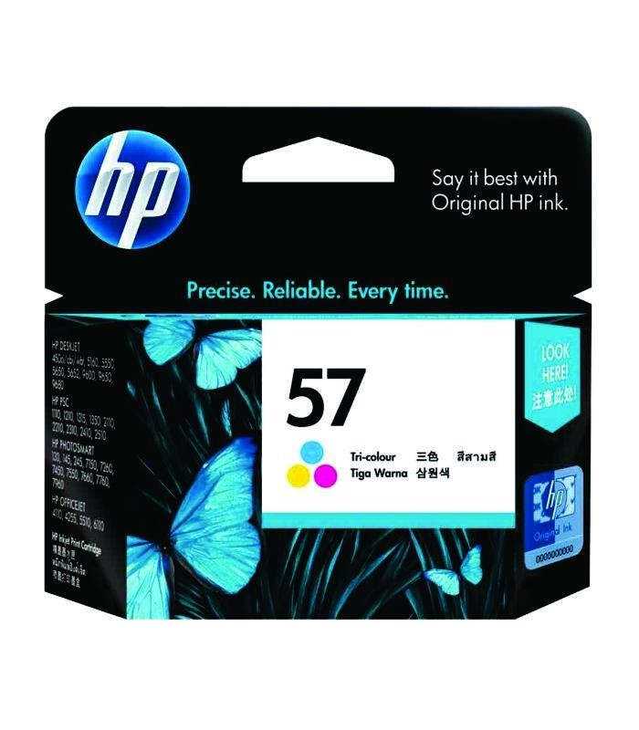 HP - 57 Tri-color Ink Cartridge [C6657AA]