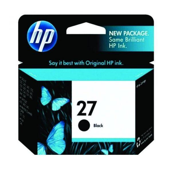 HP - 27 Black Ink Cartridge [C8727AA]