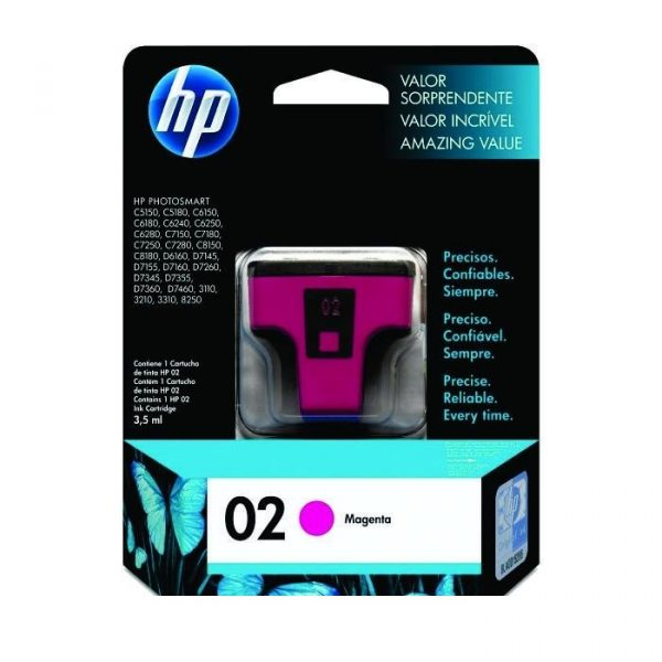 HP - 02 AP Magenta Ink Cartridge [C8772WA]