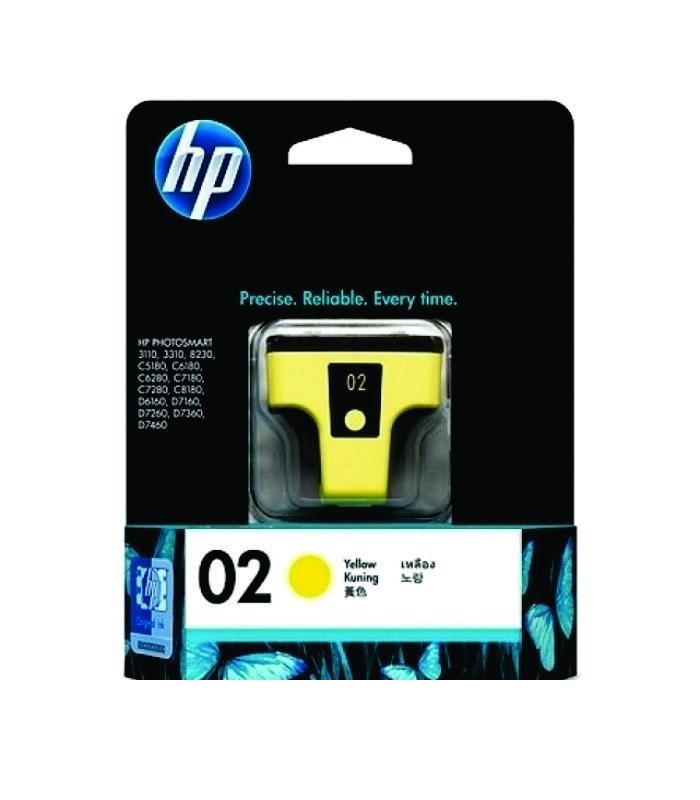 HP - 02 AP Yellow Ink Cartridge [C8773WA]