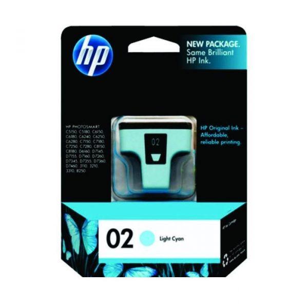 HP - 02 AP Light Cyan Ink Cartridge [C8774WA]