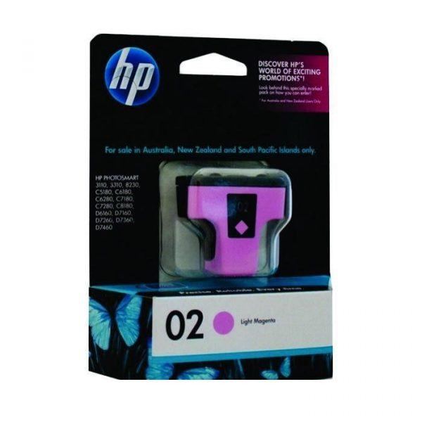 HP - 02 AP Light Magenta Ink Cartridge [C8775WA]