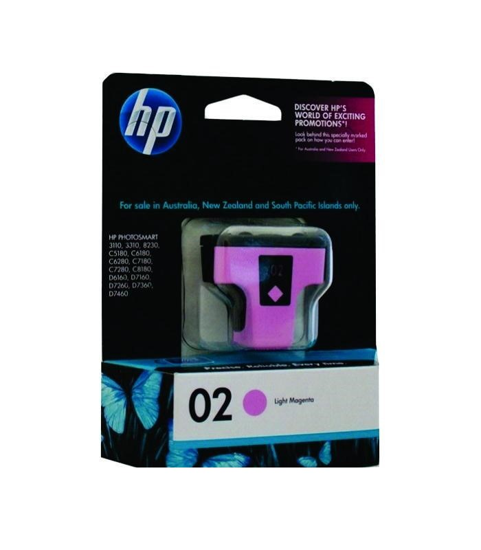 HP - 02 AP Light Magenta Ink Cartridge [C8775WA]