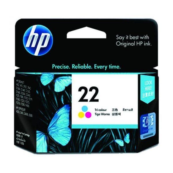 HP - 22 Tri-color Ink Cartridge [C9352AA]