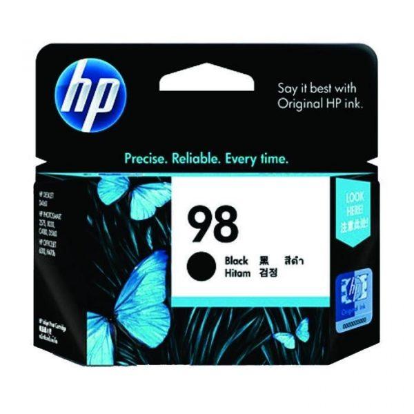 HP - 98 AP Black Inkjet Print Cartridge [C9364WA]
